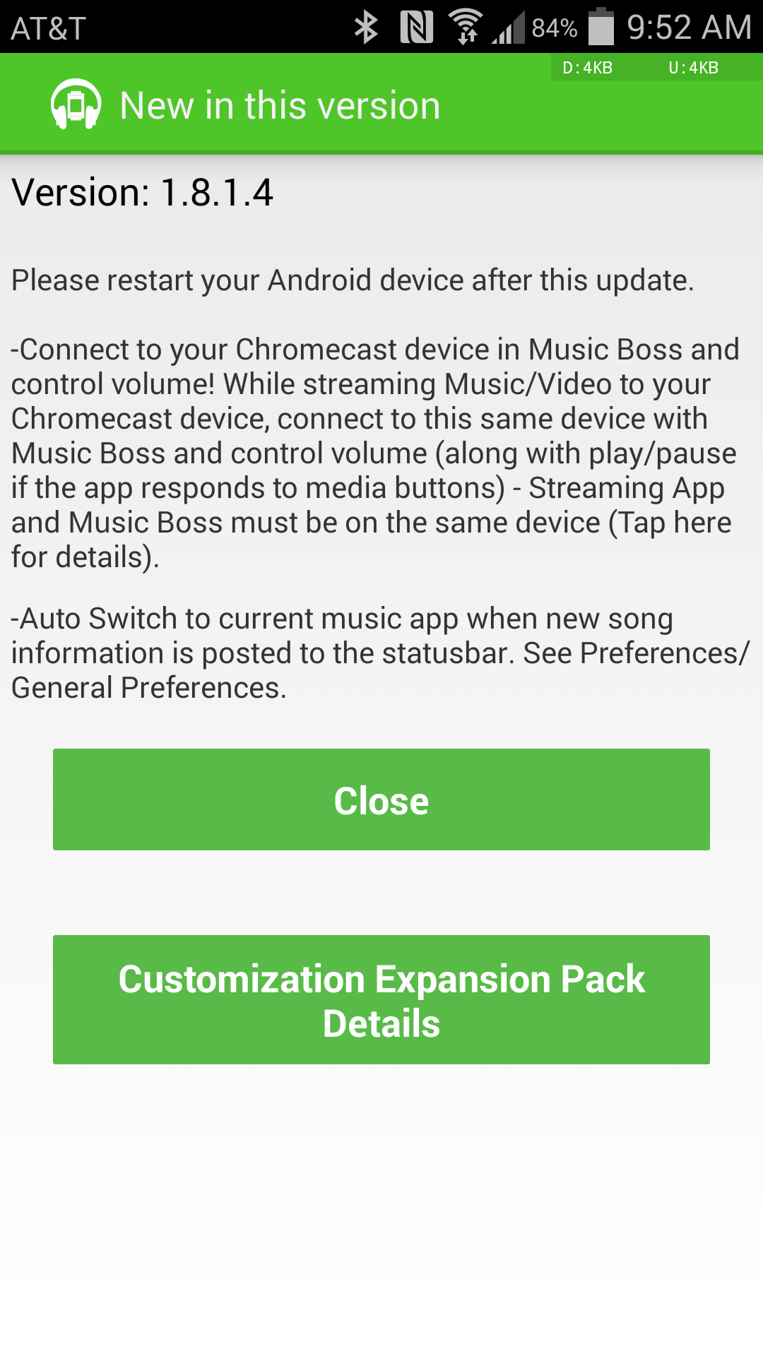 music boss for pebble can now control playback and volume on chromecast content from your smartwatch