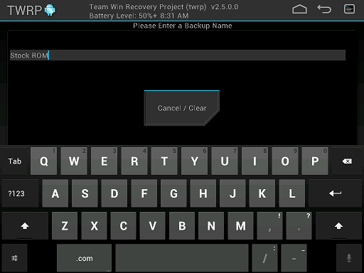 Team Win Recovery Project (TWRP) Updated To Version 2 7 With