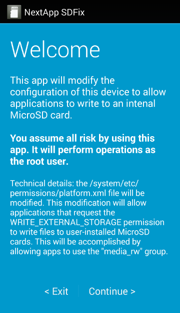 Easily Restore Full Access To The SD Card On Android 4 4 KitKat With