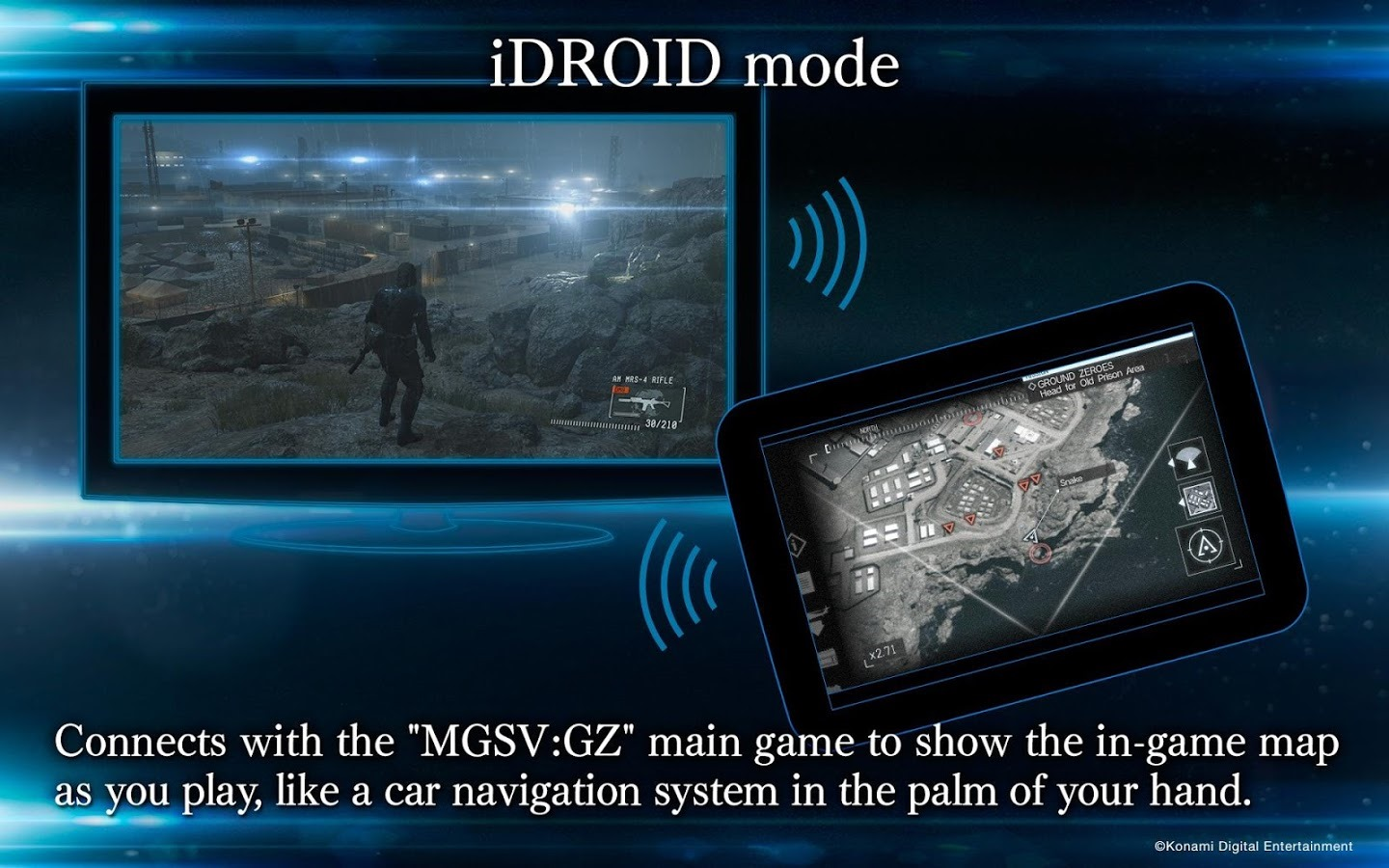 SNAAAAAKE] Metal Gear Solid V: Ground Zeroes Companion App Is A Real