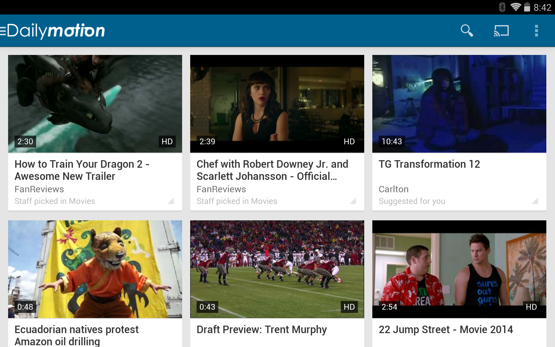 Dailymotion Tries Its Hand At Chromecast Streaming With The