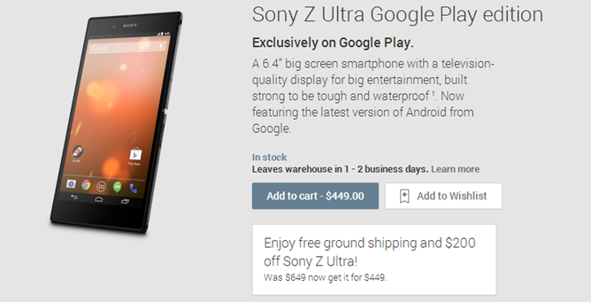 2014-04-29 13_01_21-Sony Z Ultra Google Play edition - Devices on Google Play