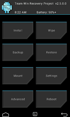 Team Win Recovery Project Releases TWRP For The Verizon HTC