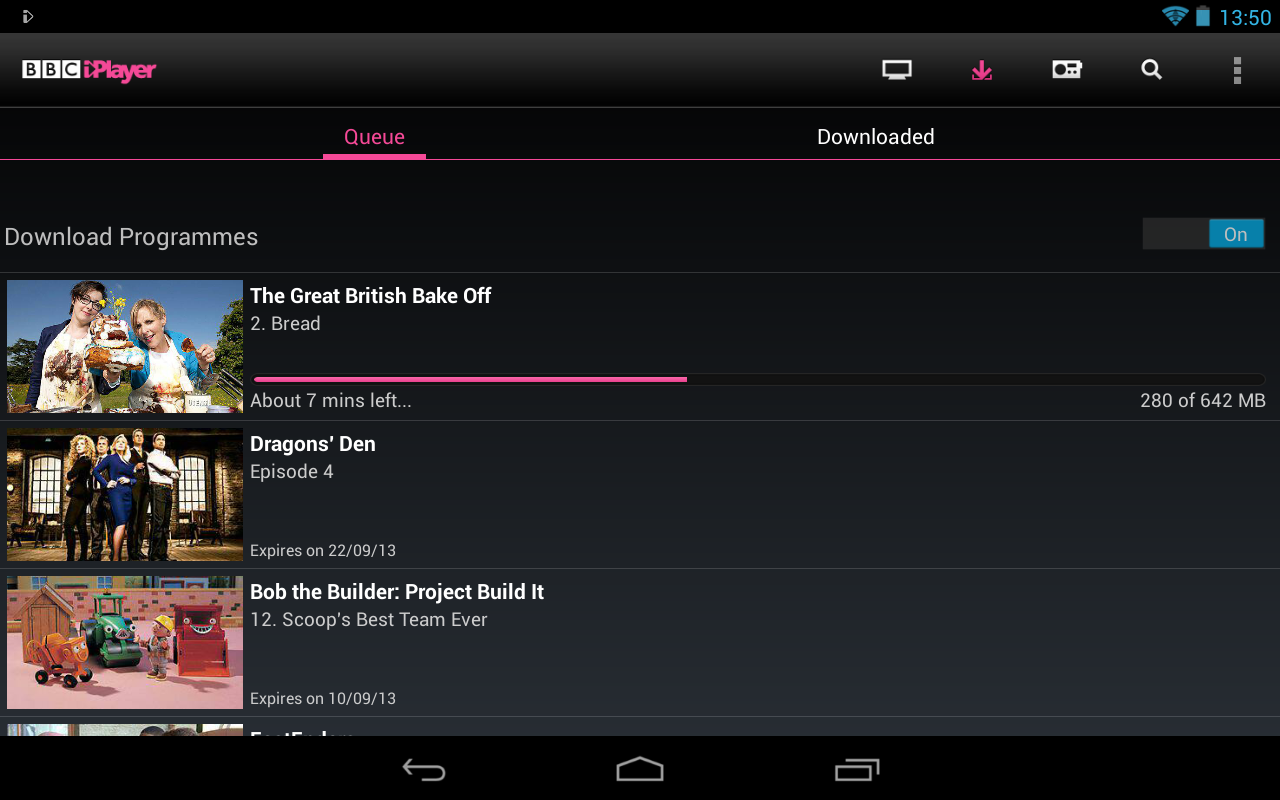 how to download bbciplayer on android box