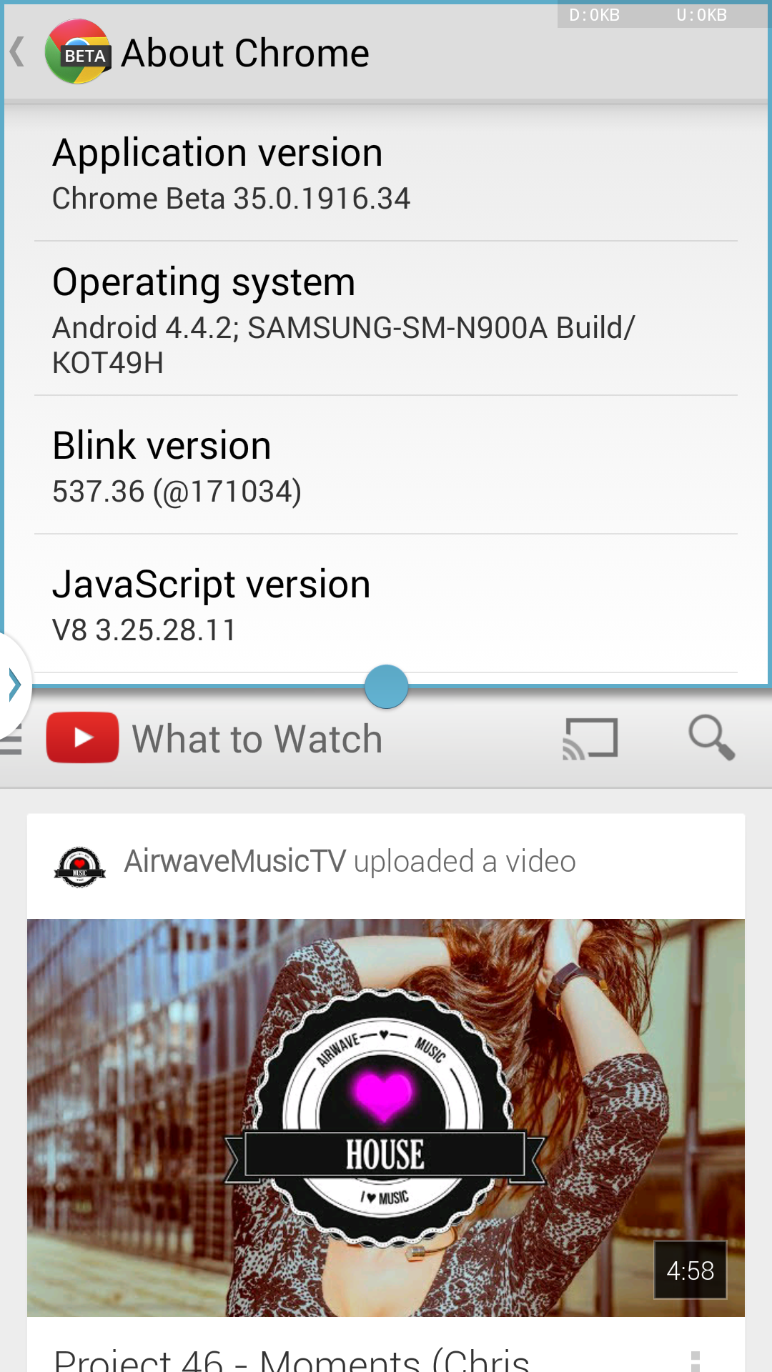 Chrome For Android Beta Version 35 Adds Undo Tab Close
