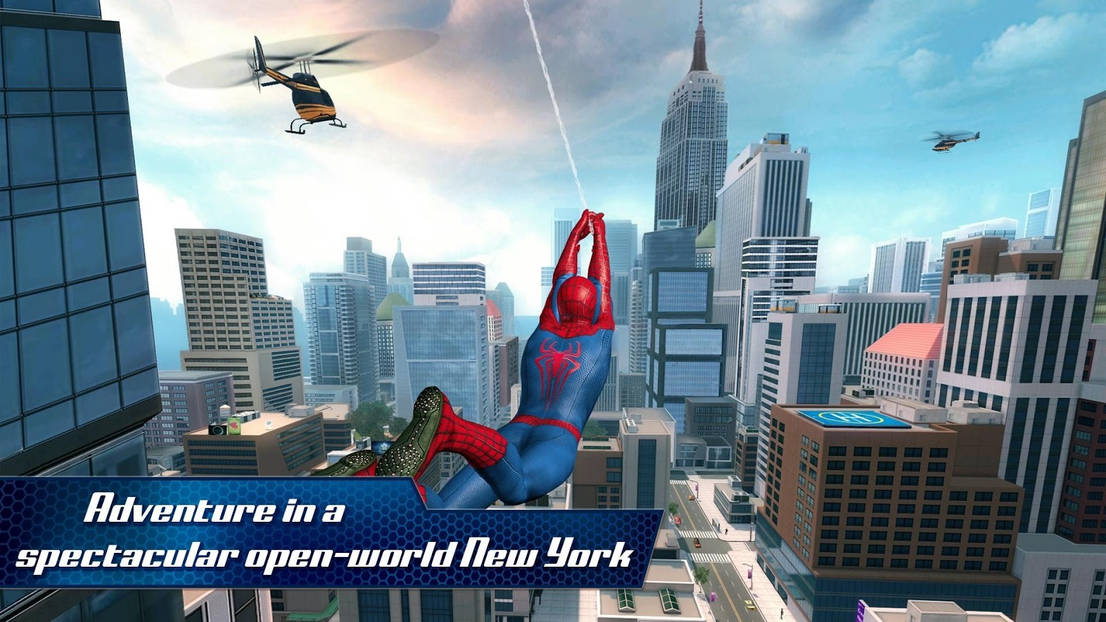 new game] the amazing spider-man 2 swings into the play store with