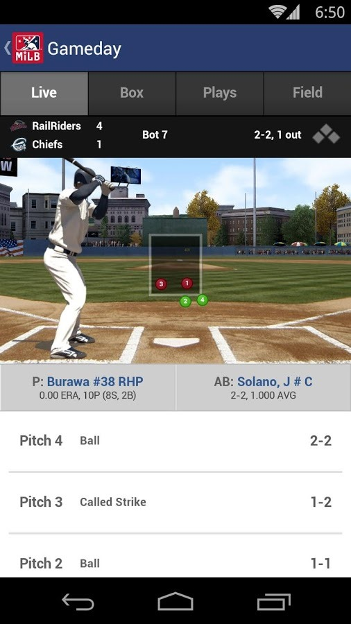 New Apps] MLB Publishes Minor League Baseball Versions Of