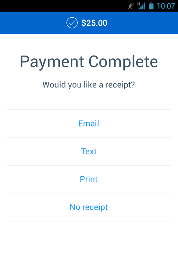PayPal Here Direct Payment Service App Gets A Major Facelift And