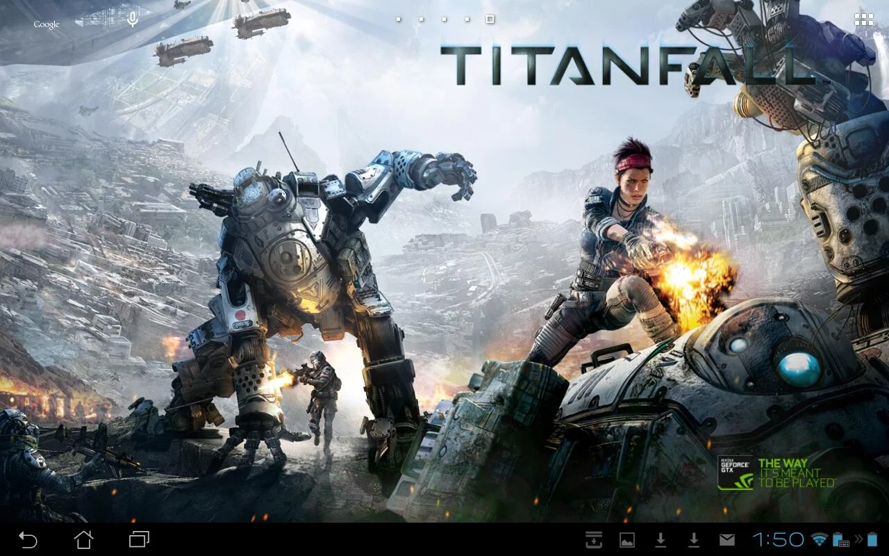 Nvidia Releases Titanfall Live Wallpaper