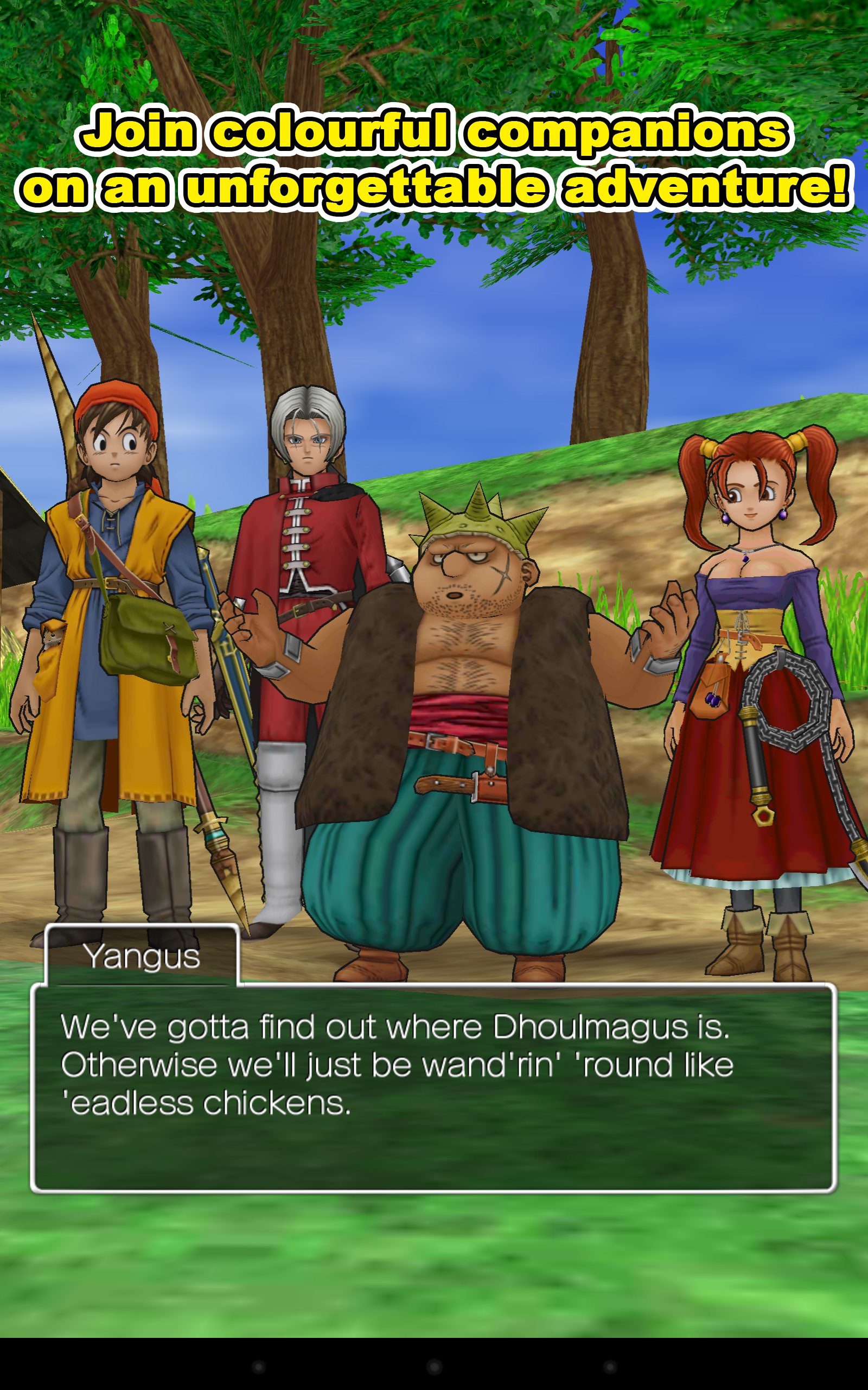 New Game] Square Enix Releases JRPG Classic Dragon Quest VIII On