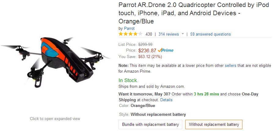 parrot ar drone 2 0 app with Deal Alert Parrot Ar Drone 2 0 Hits New Low Price On Amazon At 236 87 63 Off Elite Edition For 249 99 50 Off on Parrot Minidrone Airbone Cargo Travis Color Negro Y Amarillo Pf723300aa 0 6 moreover X5sw 1 Rtf Drone 24ghz 6 Axis 4 Ch Helicptero Wifi Fpv Rc Quadcopter Hd Cmara 0 7 further 32449592451 likewise Featuring A New Hud And Media Capabilities Ar Freeflight V2 0 Is Now Available together with Review Segway Minipro Hoverboard.