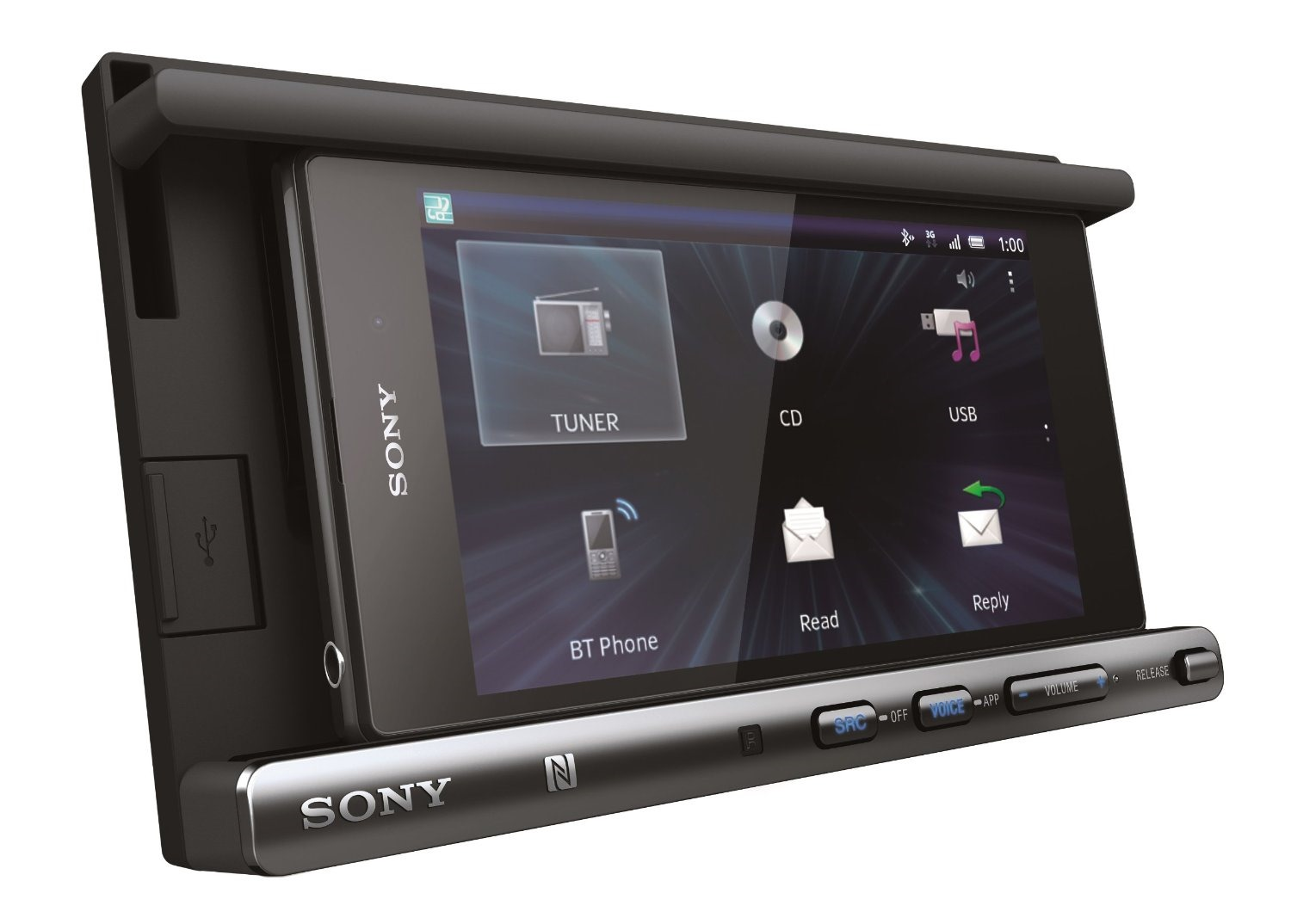 Sony's XSP N1BT Double-DIN Smartphone Car Stereo Phone Mount Is Available On Amazon And Crutchfield For $250