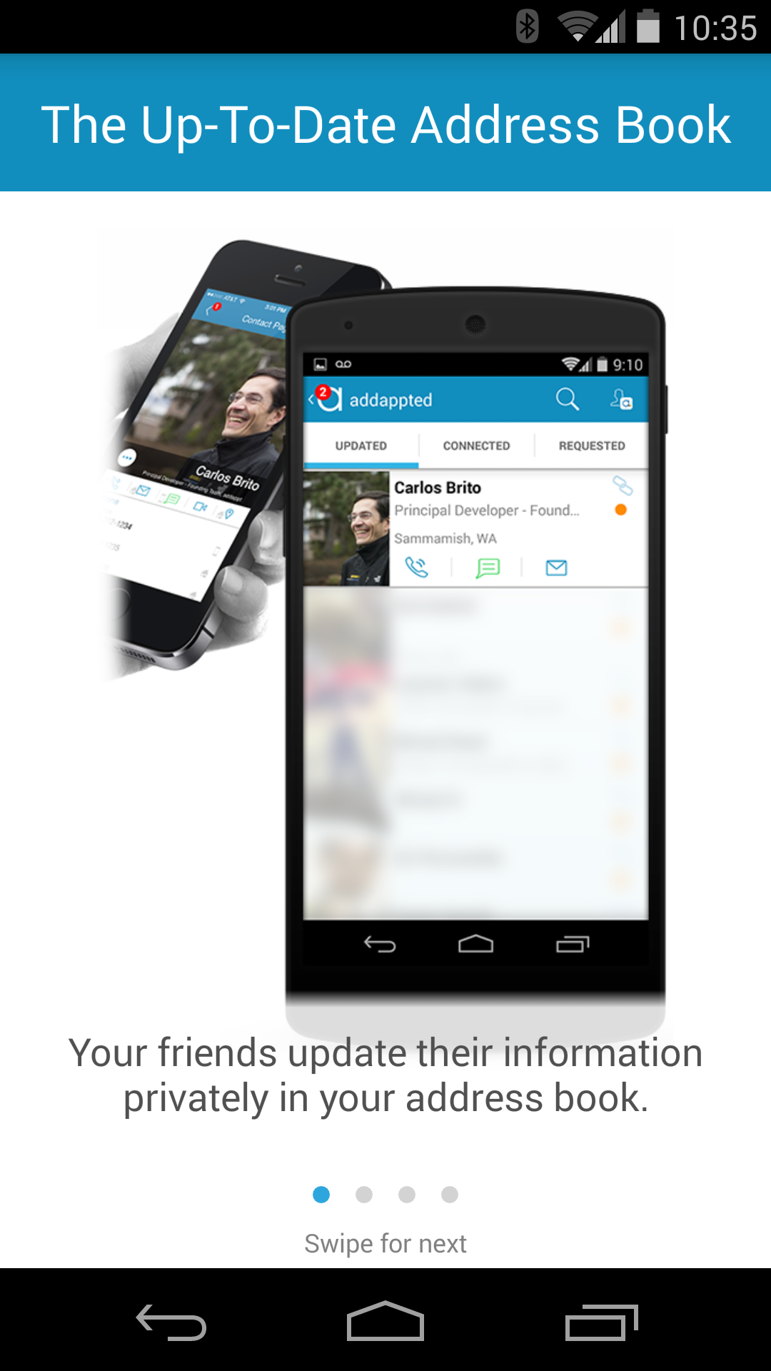 [New App] Addappt Hits Android With Promise Of Privately Synced, Always Up-To-Date Contacts