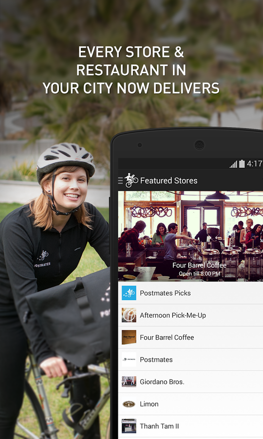 Postmates Delivery Service For Grocery Stores And Restaurants Comes