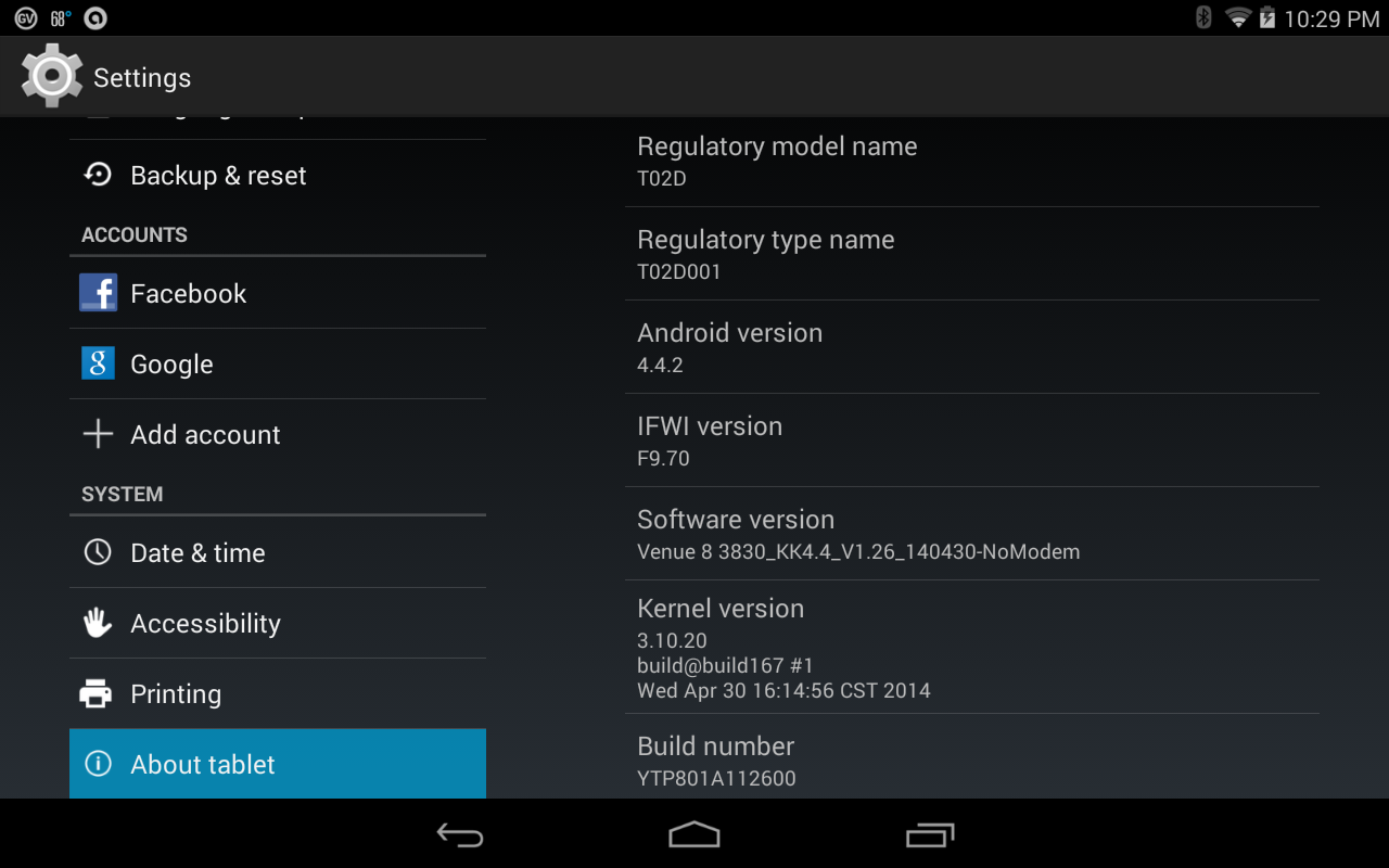 Dell Venue 7 And 8 Get Their KitKat (Android 4 4 2) Updates