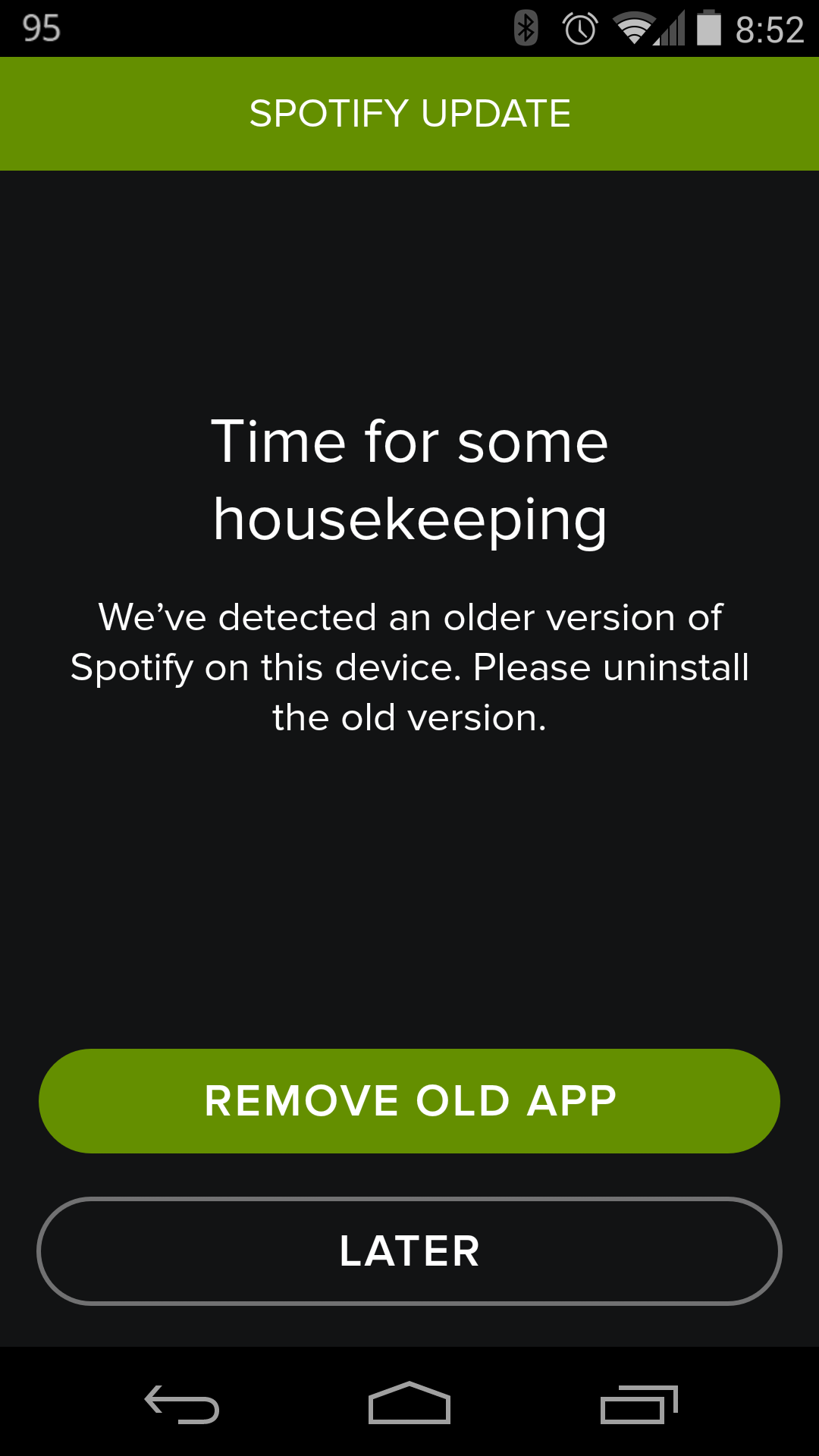After Data Breach Spotify Disables Current Android App