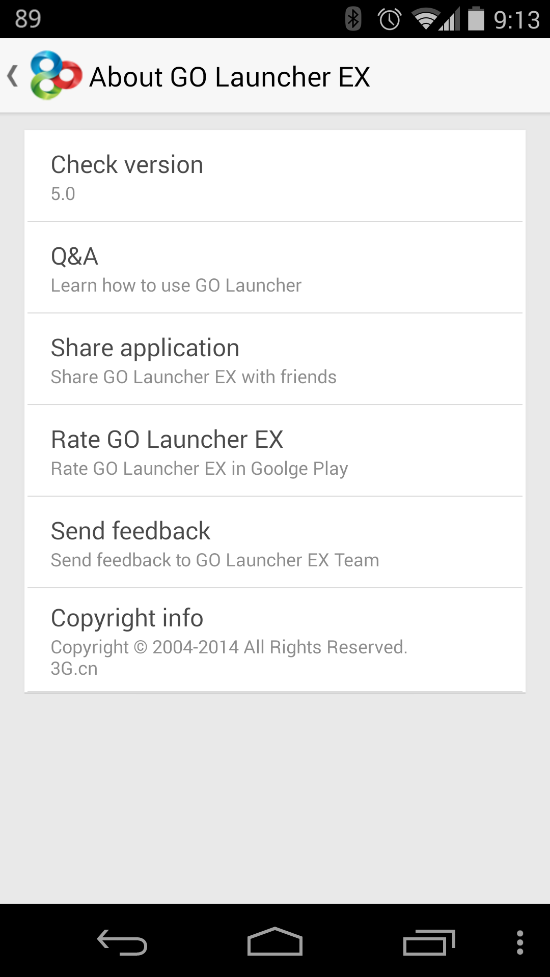 GO Launcher EX Gets A Huge Update To v5, Prime Version Free