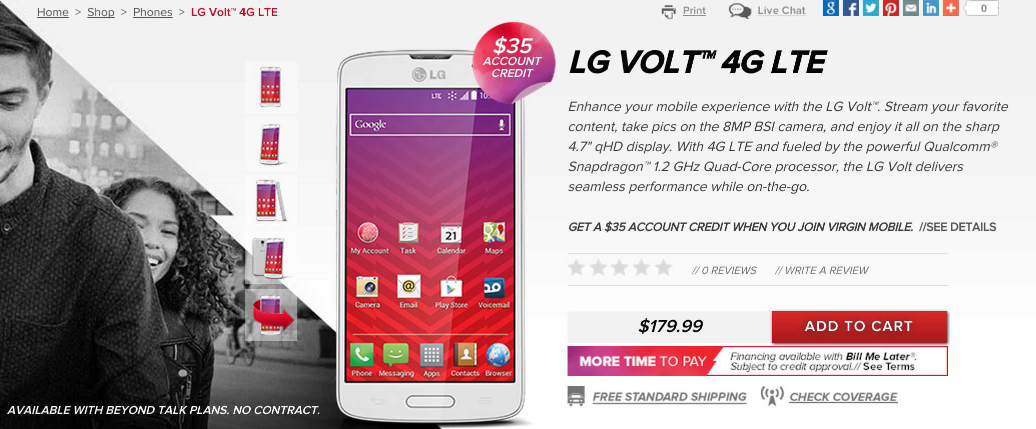 LG Volt Zaps Its Way Onto Boost Mobile And Virgin Mobile For $179 99