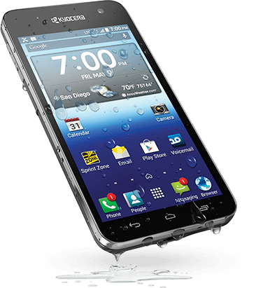 Sprint And Virgin Mobile Announce The Low-End, Water-Resistant Kyocera Hydro Vibe For Release In May