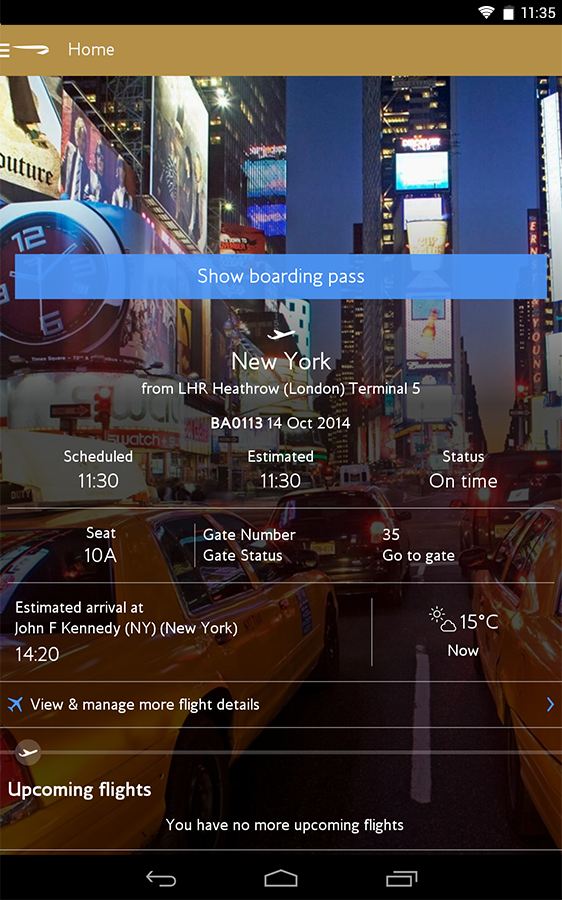 British Airways App Finally Gets A Proper Redesign With v3 ...