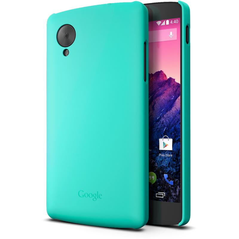 online retailer 31751 73fd9 Official Nexus 5 Snap Case Quick Look: Not Bad, But Not ...
