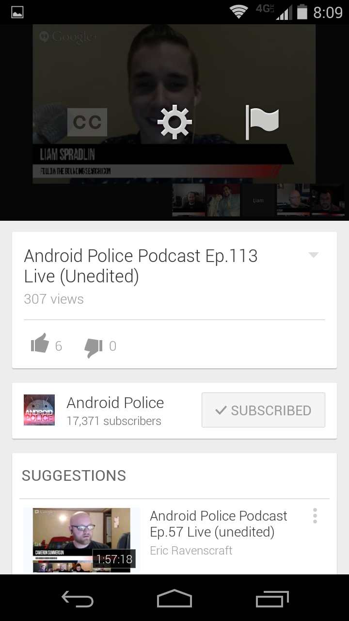YouTube v5 7 For Android Finally Lets You Select Exact Streaming