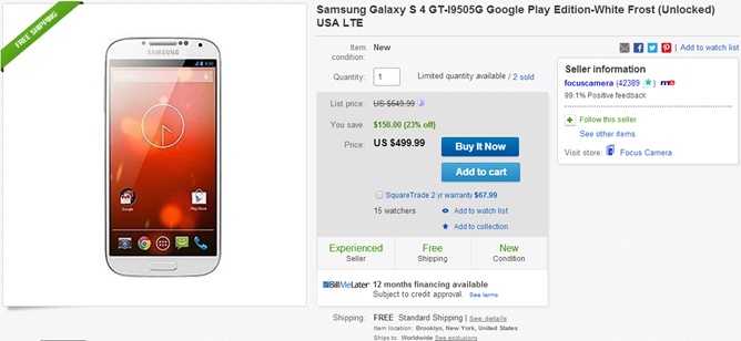 2014-06-27 13_26_39-Samsung Galaxy s 4 GT I9505G Google Play Edition White Frost Unlocked USA LTE _