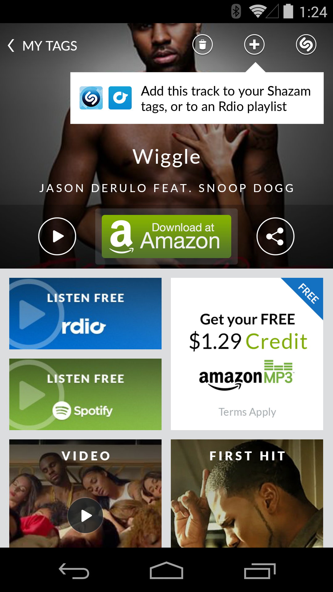 Deal Alert] Shazam A Song And Get $1 29 In Amazon MP3 Credit