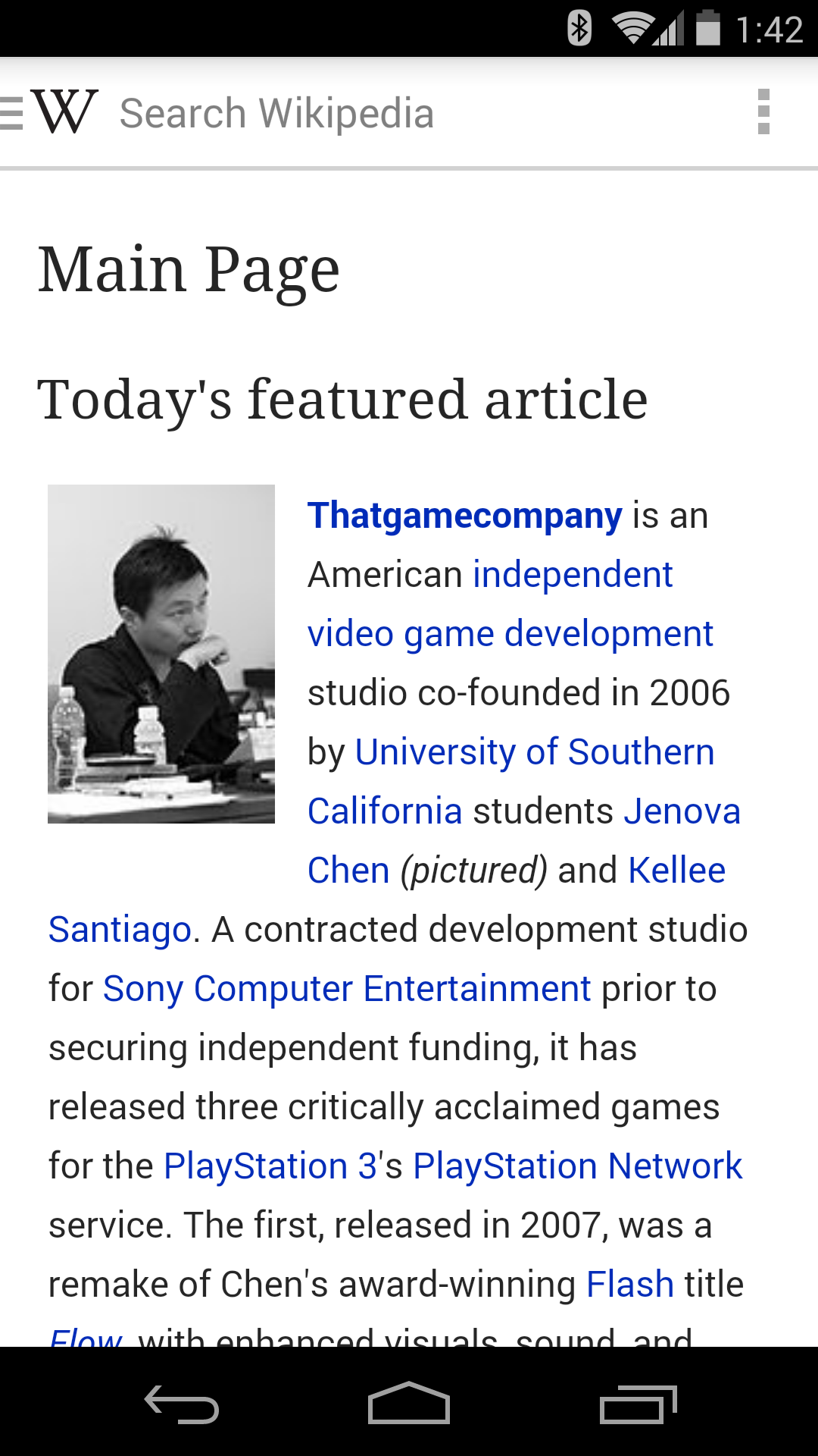 Wikipedia Beta App Goes Native With Drastic New Redesign