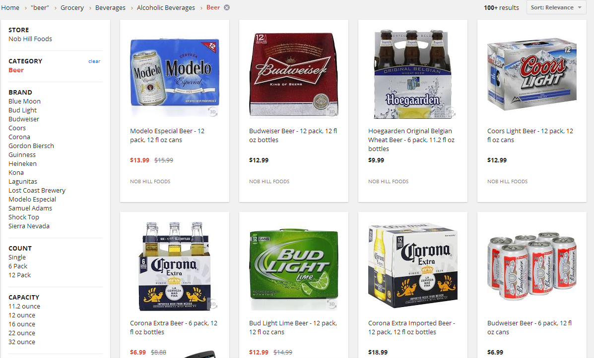 booze express] google shopping express now delivers alcohol in sf
