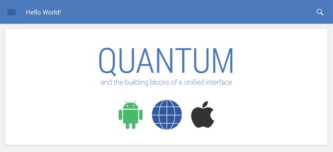 Quantum Paper, diseño Google fácil para todos