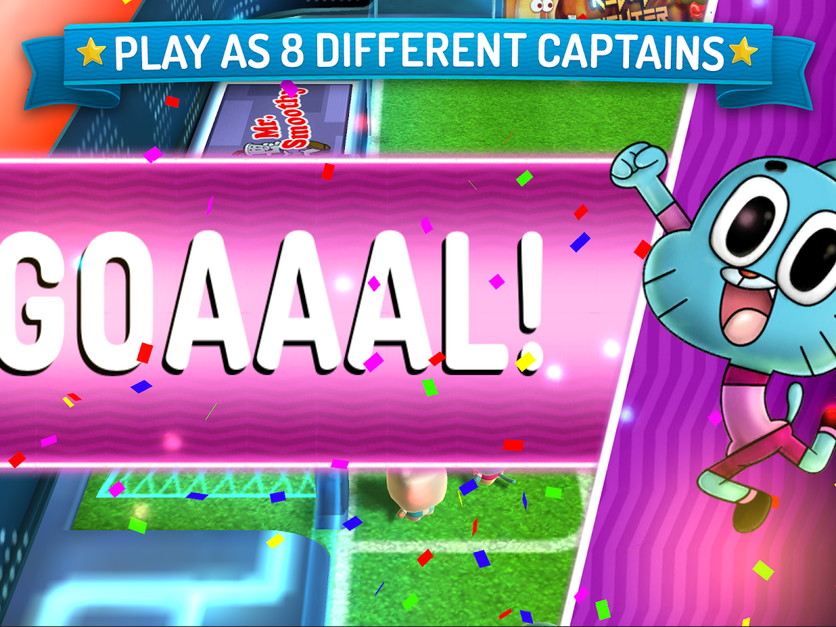 New Game] Cartoon Network Superstar Soccer Is Like Mario