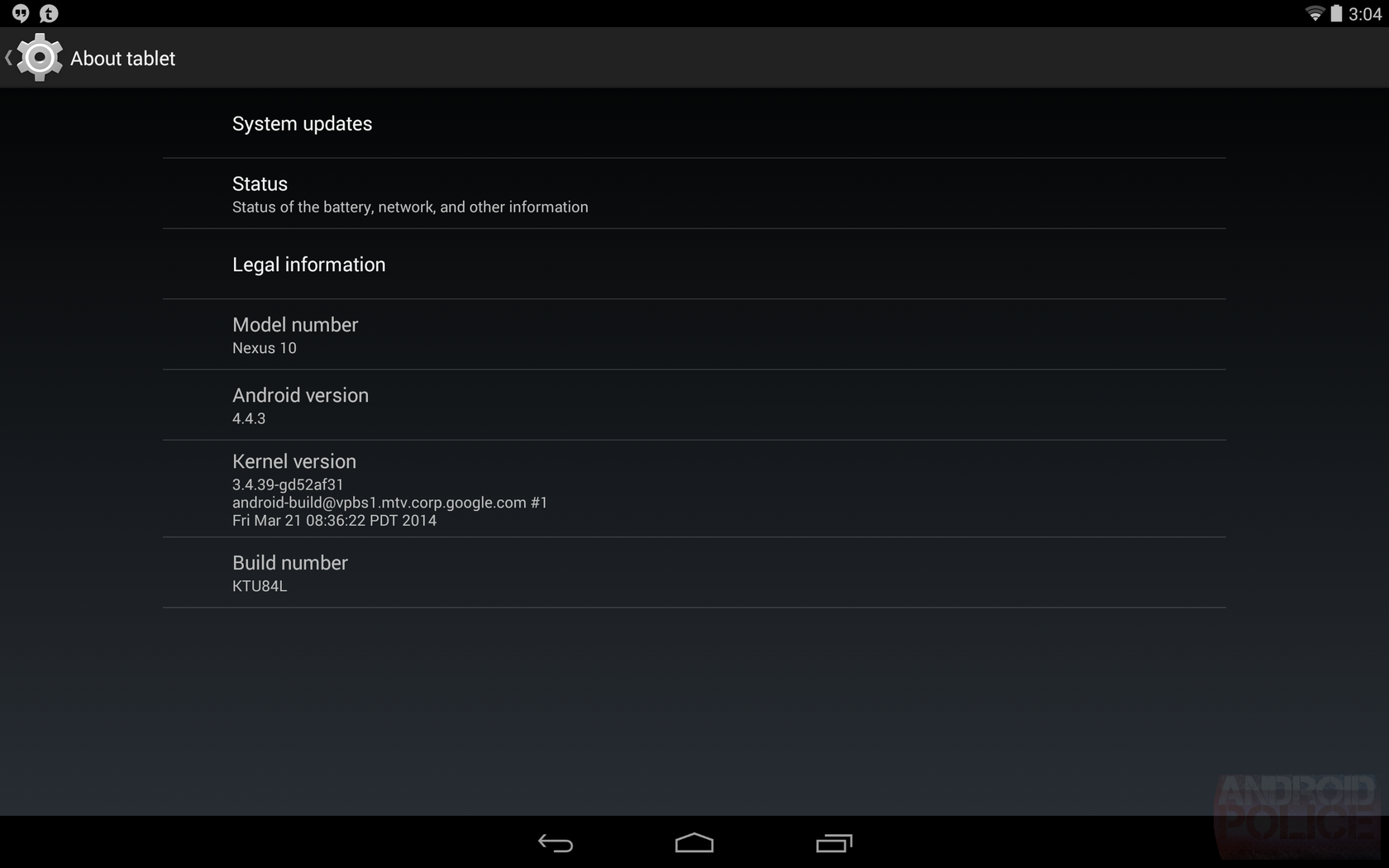 Nexus 10 And Nexus 4 Android 4 4 3 Ktu84l Ota Zip Urls Are Here