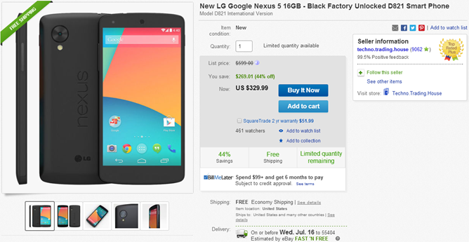 2014-07-10 14_11_43-New LG Google Nexus 5 16GB Black Factory Unlocked D821 Smart Phone _ eBay