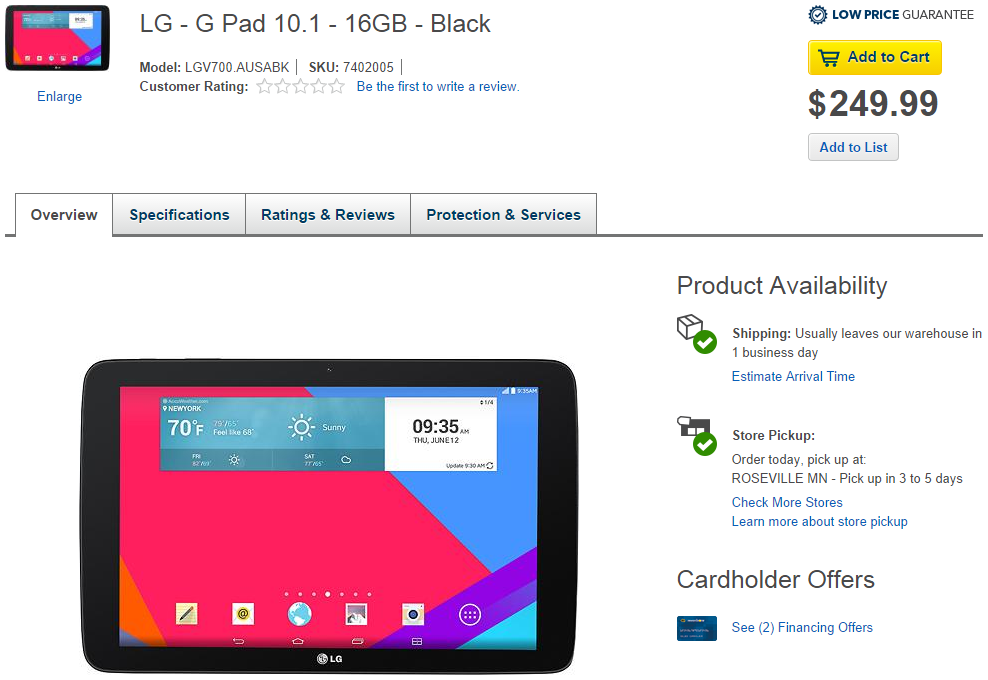 Looking For An Inexpensive 10 1-Inch Tablet? Best Buy Has