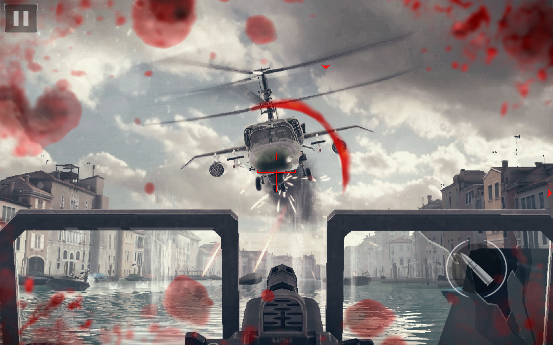 Modern combat 5 review a mobile shooter loaded with an for Combat portent 2014 review