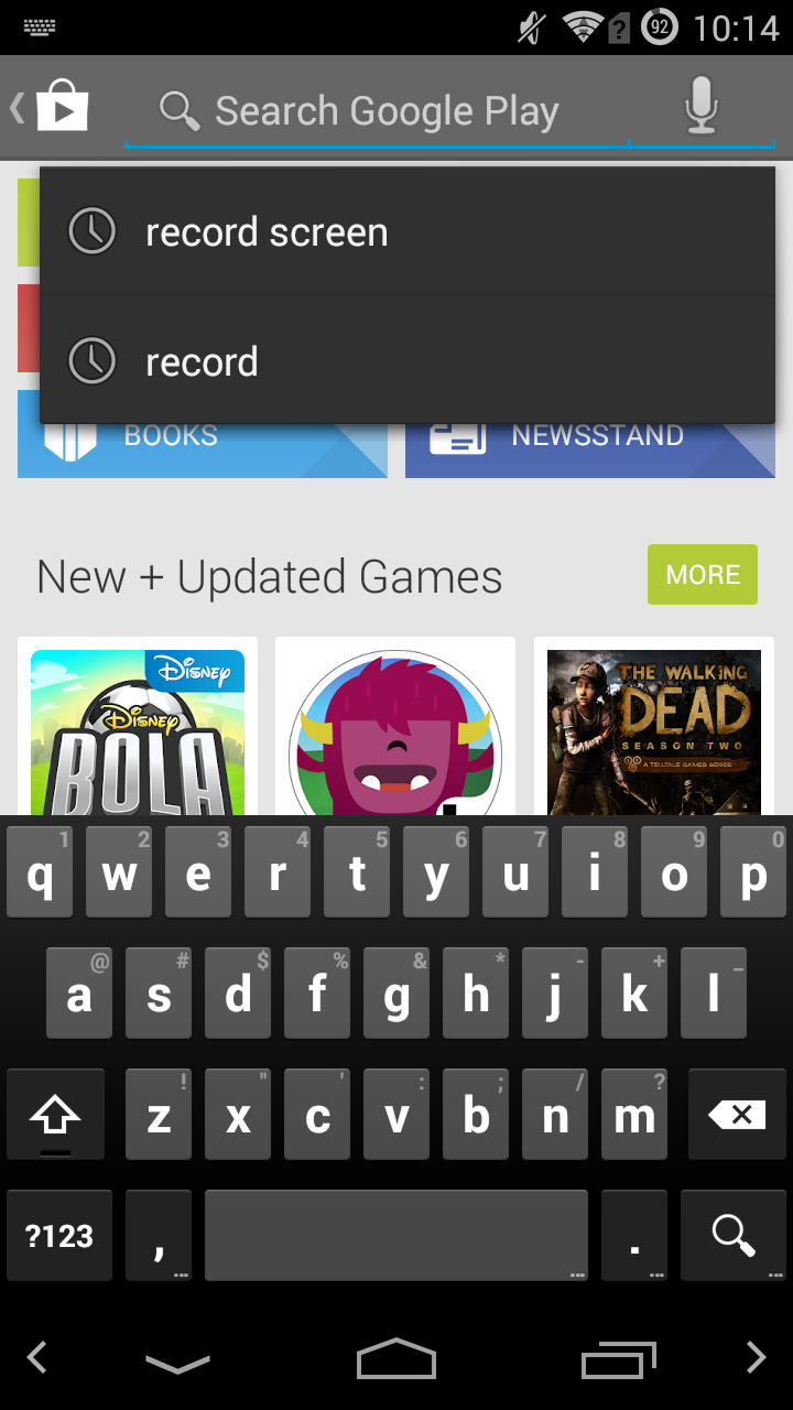 CyanogenMod Adds Left/Right Cursor Keys To The Nav Bar
