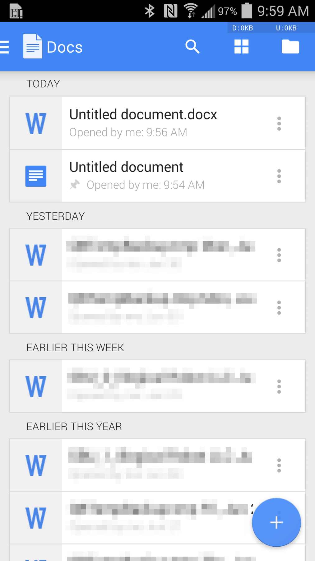 Google docs for android gets biggest update in its history for Google docs for android apk