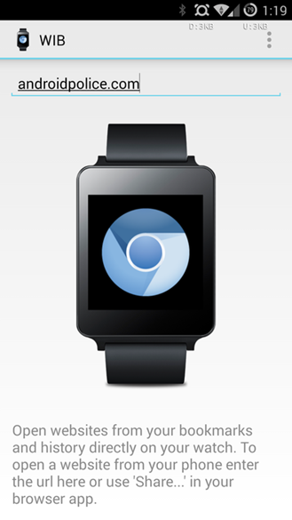 how to call from android wear