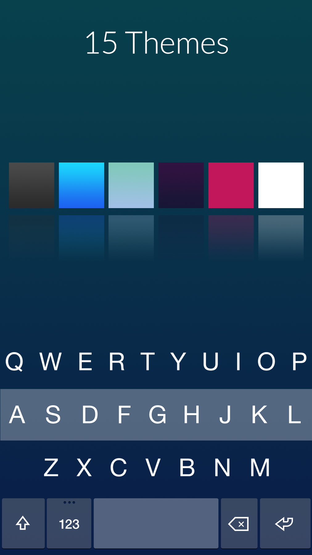 Fleksy Keyboard Updated To Version 3 0 With Premium Themes
