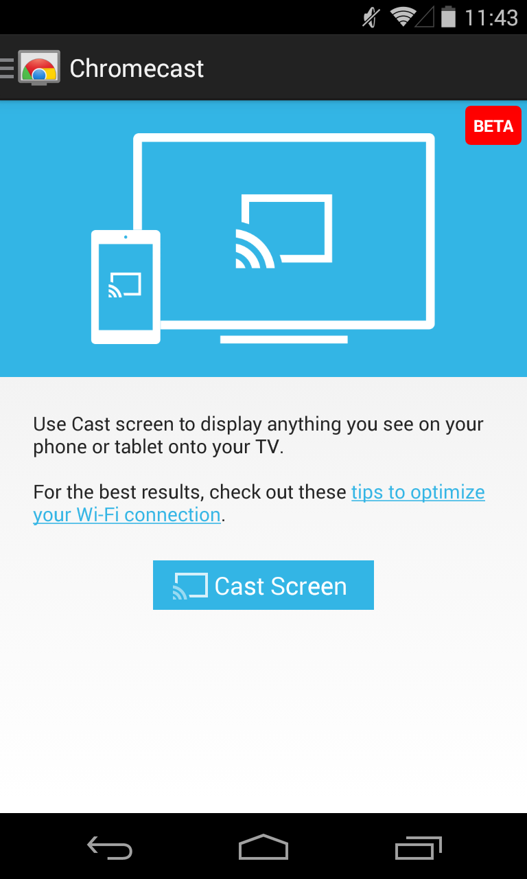 Chromecast App Updated To V1 7 With Screen Casting Integration Apk Download