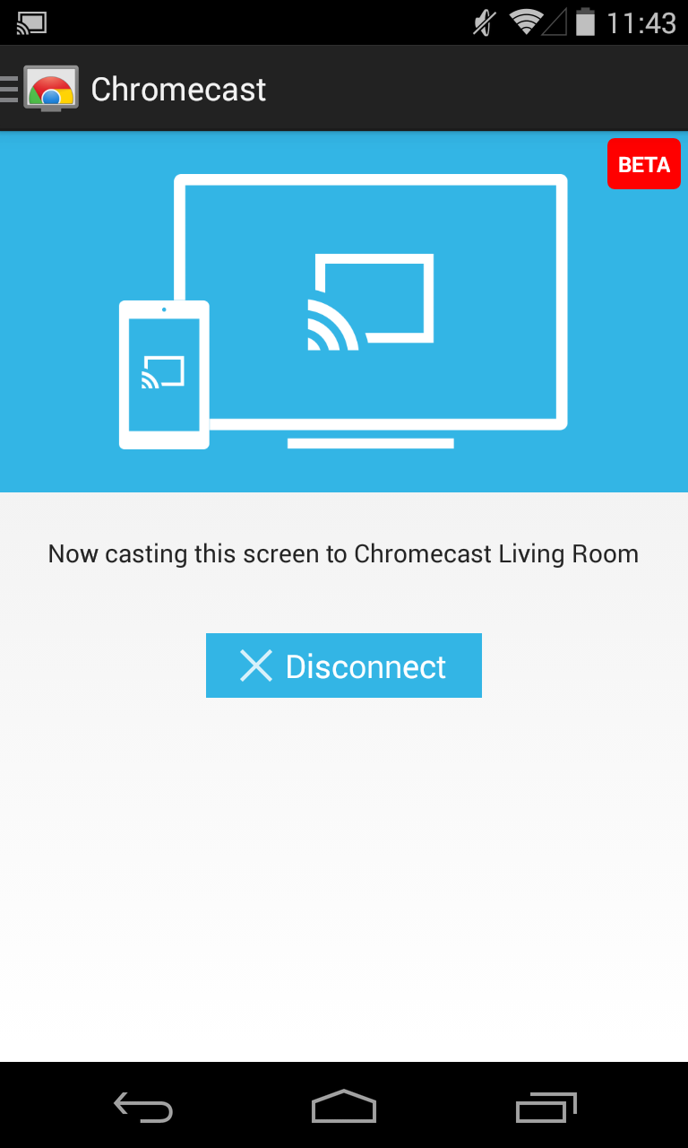 Chromecast App Updated To V1 7 With Screen Casting