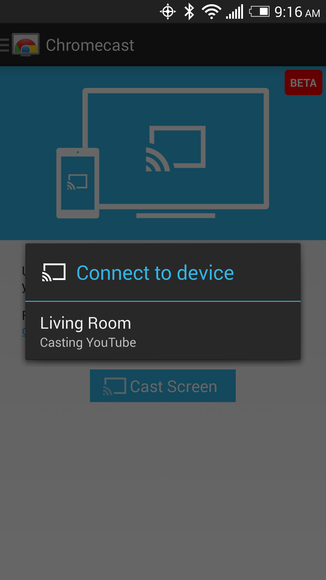 Hands On Video] Android's New Screen Casting Feature Is A Game
