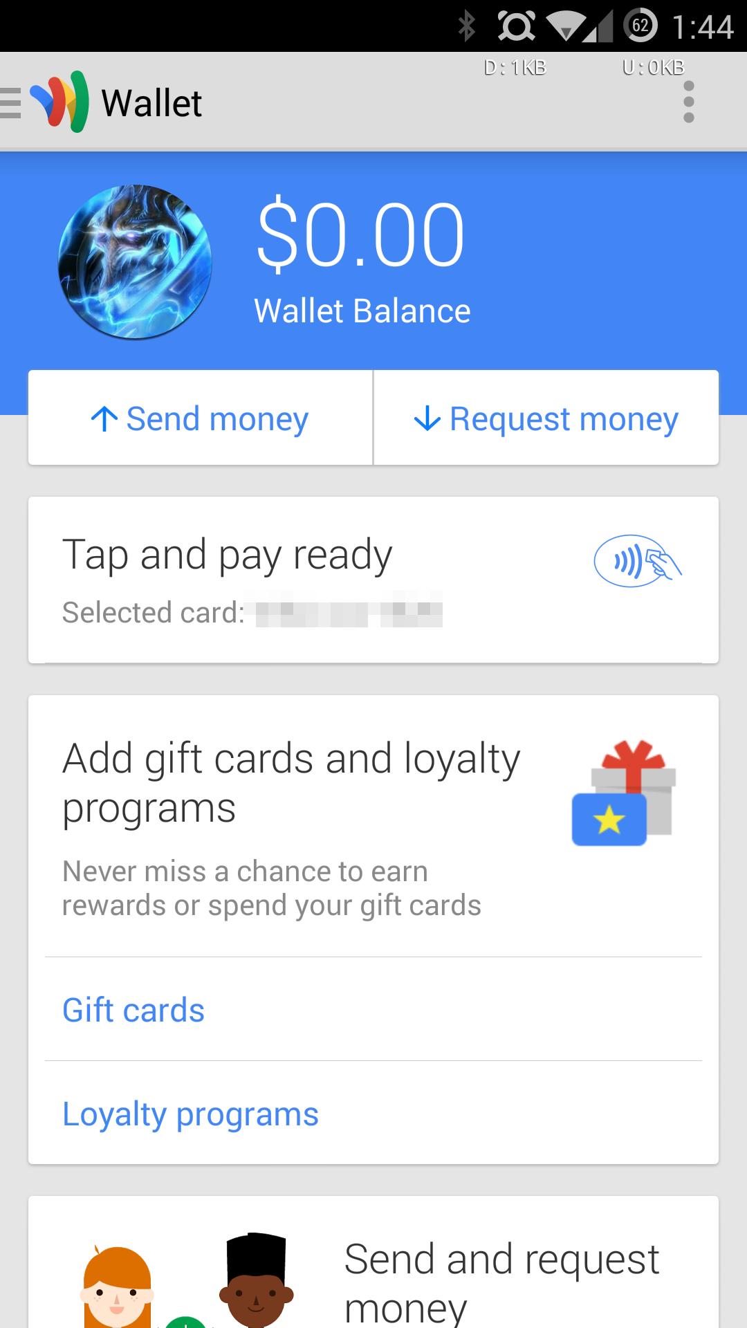 Using google wallet card : Saddleback messenger bag