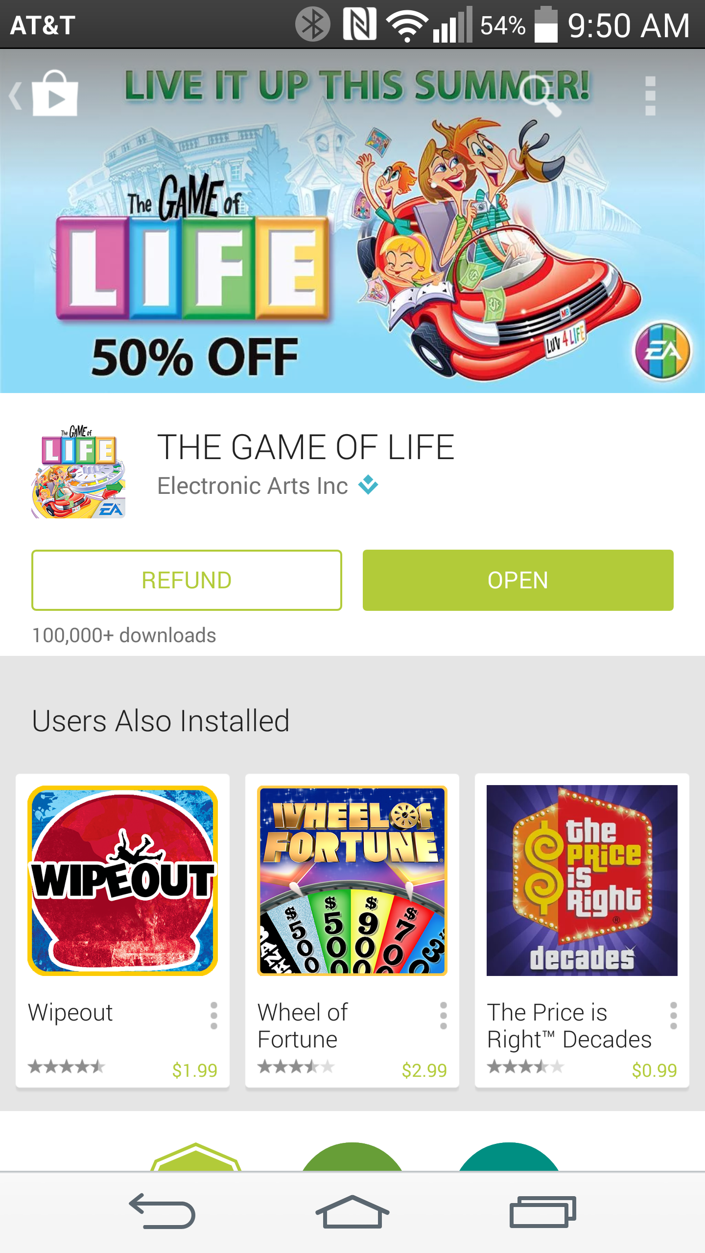 how to get a refund on play store