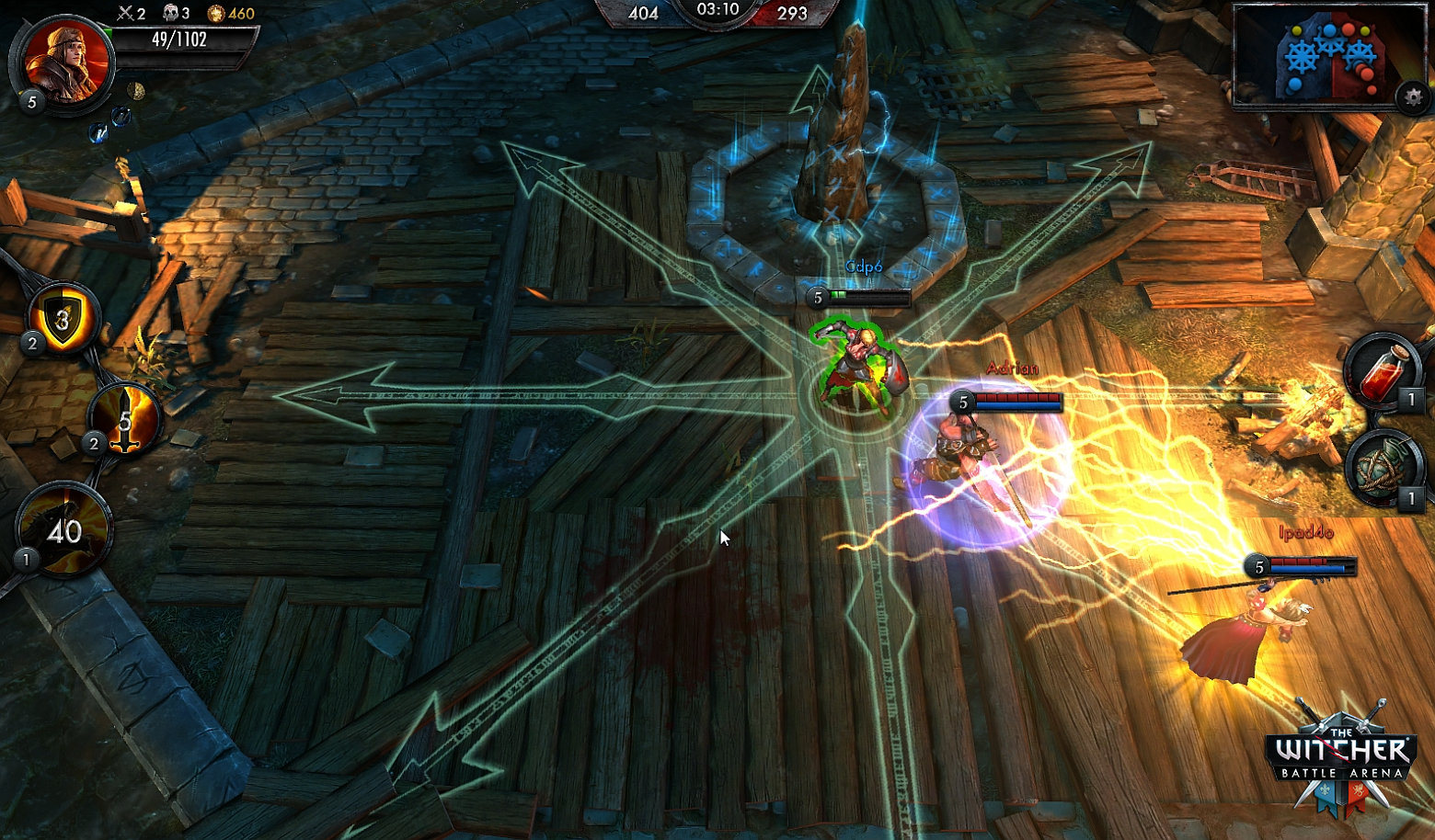 The Witcher Battle Arena Is An EyeCatching DotAStyle Multiplayer