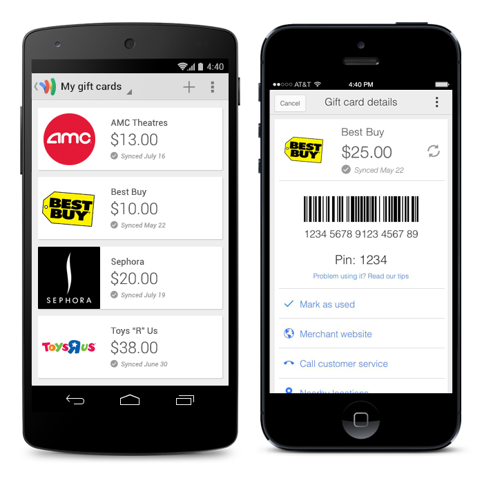 APK Download] Google Wallet App Updated With Gift Card