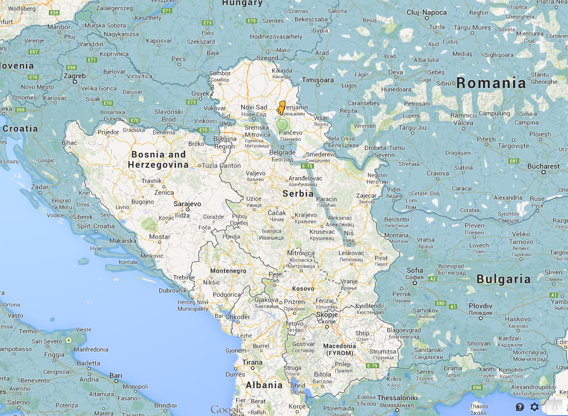 Google adds street view to maps in serbia serbia gumiabroncs Image collections