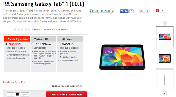 verizon tab