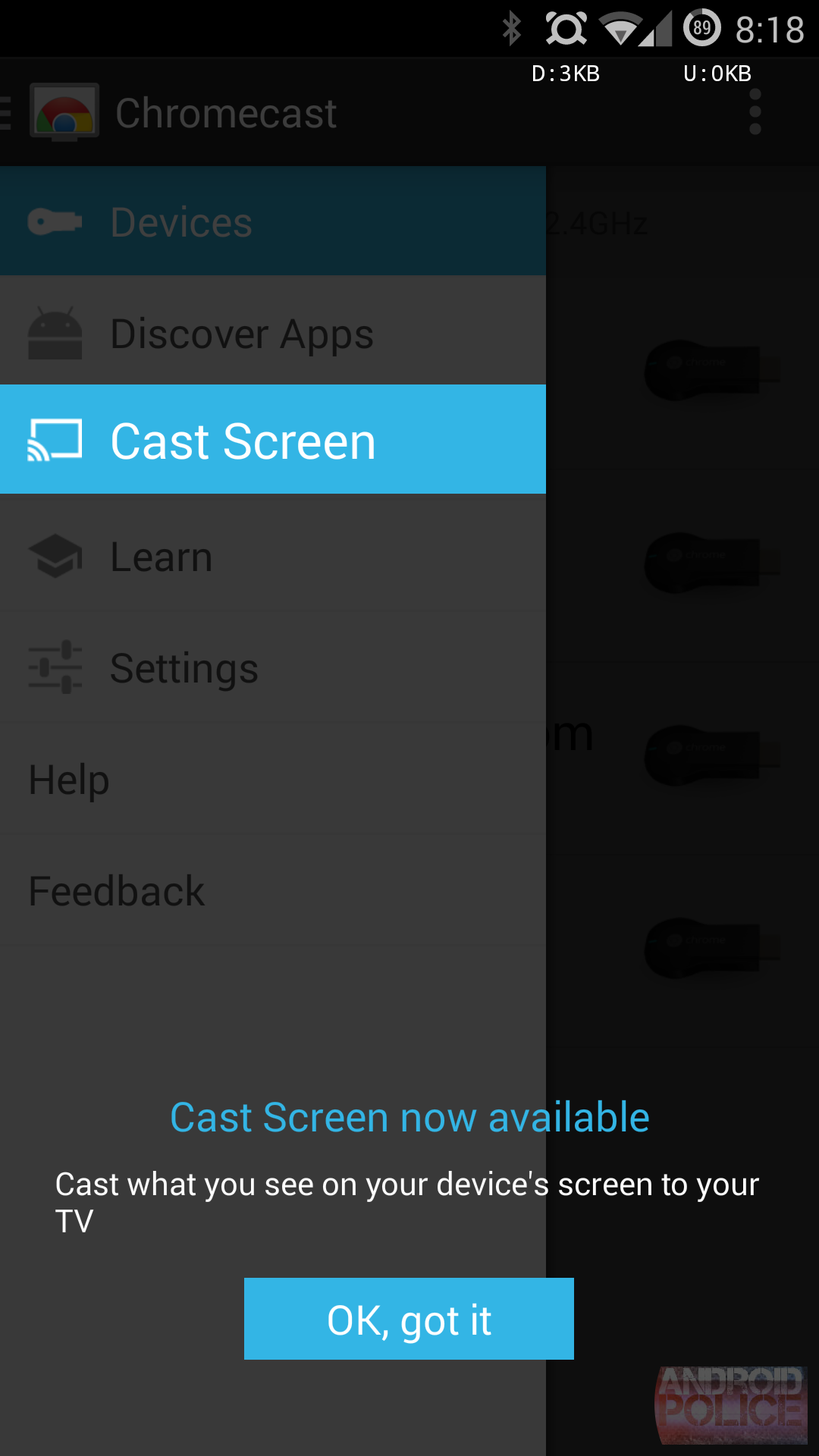 XDA Developer Finds A Way To Enable Screen Casting On Most Rooted